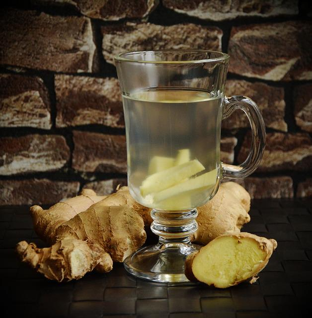 Tea, Ginger, Healthy, Healing, Cure, Natural Remedy