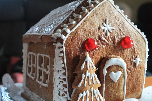 Gingerbread House, Gingerbread, Christmas