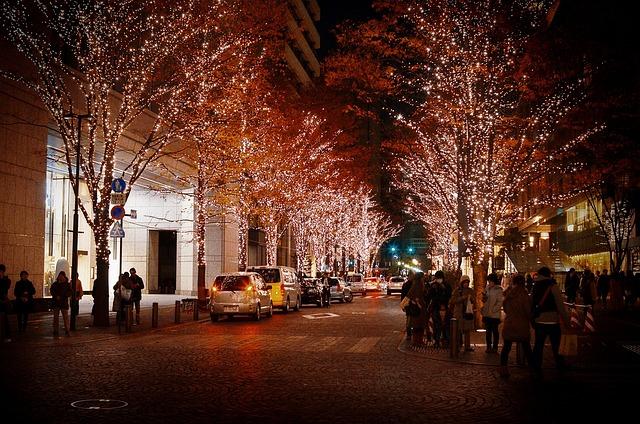 Ginza, Christmas, Illumination