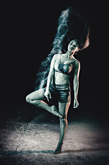 Dance, Ballet, Powder, Girl, Dancer, Art, Beautiful