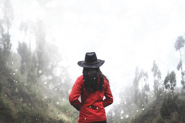 Adult, Blurred, Bokeh, Cowboy Hat, Female, Girl