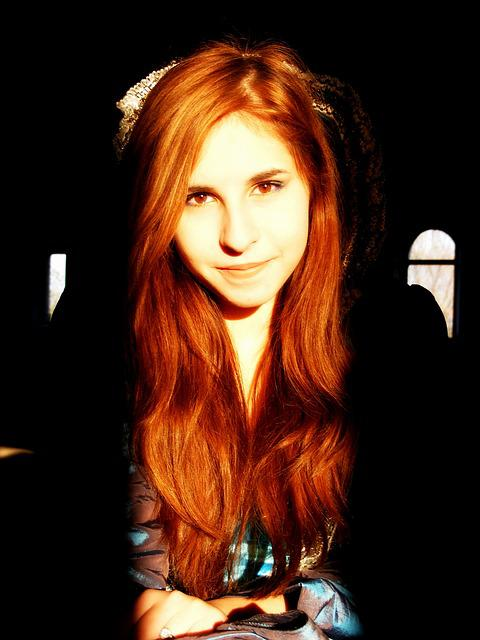 Girl, Portrait, Princess, Story, Nice, Light, Brown
