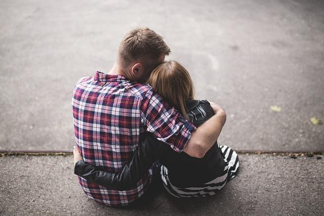 Couple, Friends, Girl, Love, Man, People, Sitting