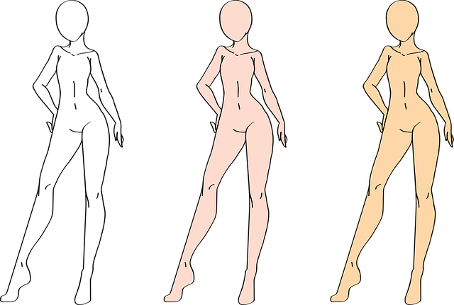 Girl, Female, Drawing, Woman, Person, People, Design