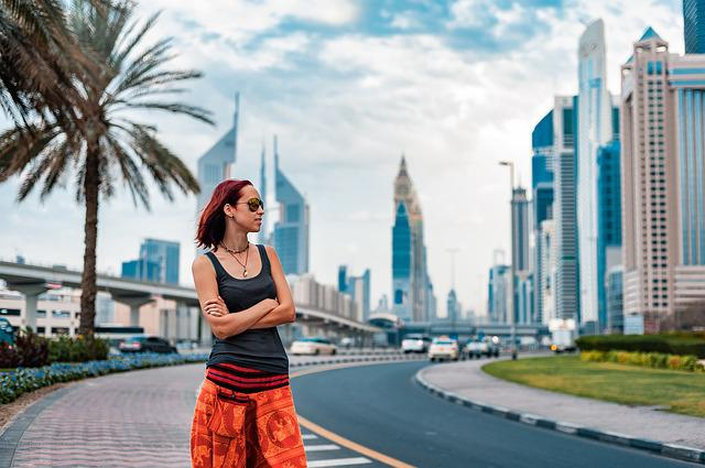 Uae, Dubai, Girl, City, Arab, Emirates, Tourism