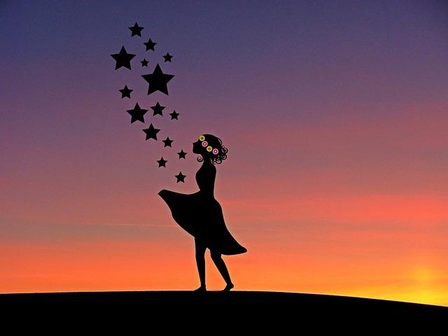 Sterntaler, Girl, Fairy Tale, Fairy Tales, Child, Human