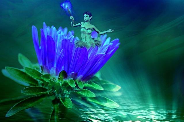 Fee, Girl, Fairy Tales, Fantasy, Blossom, Bloom