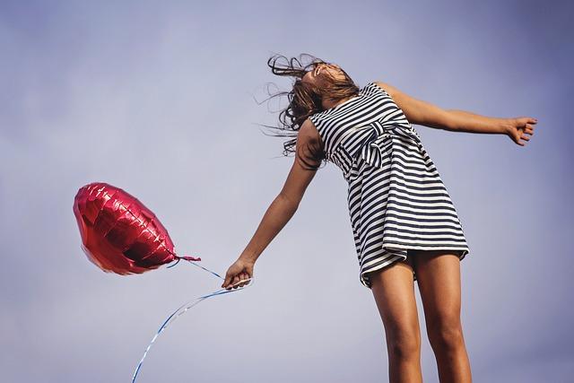 Joy, Freedom, Release, Happy, Happiness, Girl, Summer