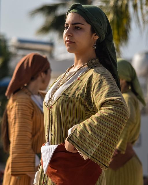 Girl, Head Kerchief, Traditional, Folklore, Dress