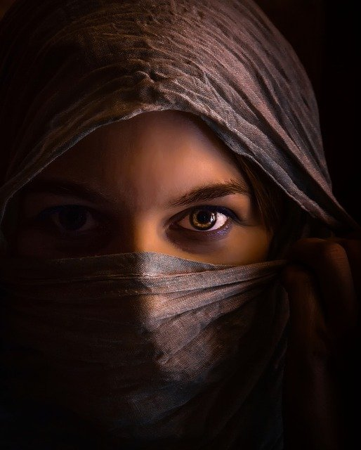 Woman, Girl, Secret, Headscarf, Arabic, Islam, Islamic