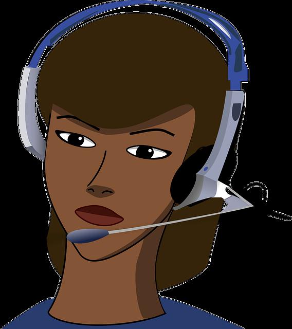 Call-center, Girl, Headset, Office, Call, Phone