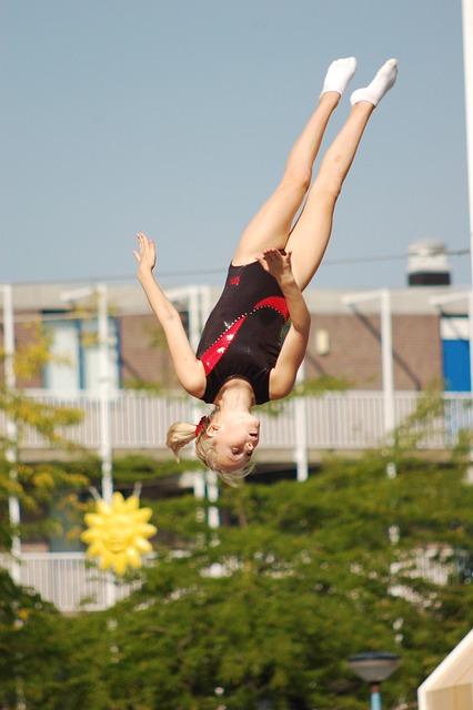 Girl, Jump, Holland, Fun