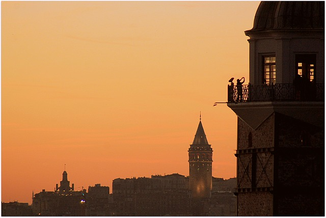 Istanbul, Girl, Tower, Landscape, Maiden's Tower