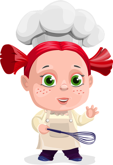 Girl, Cook, Cooking, Paddle, Kid, Child, Food, Kitchen
