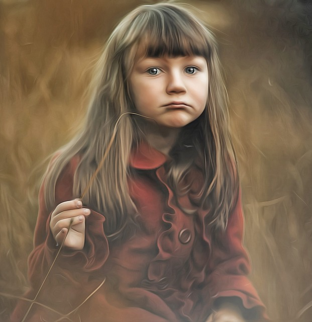 Female, Girl, Portrait, Nature
