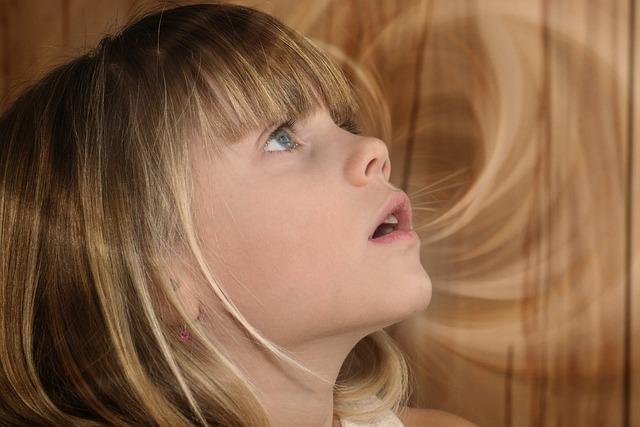Child, Girl, Blond, Face, View, Amazed, Portrait