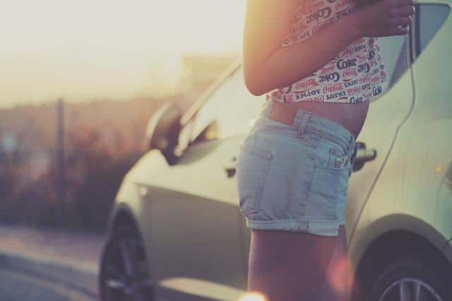 Car, Girl, Woman, Young, Auto, Travel, Female, Road
