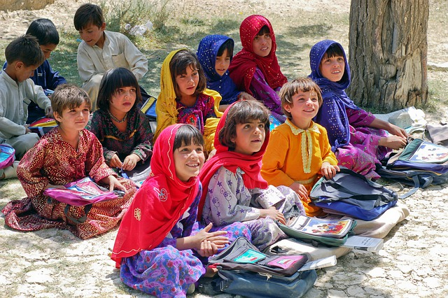Girl, Schoolgirl, Learn Schulem, Afghanistan, Muslims