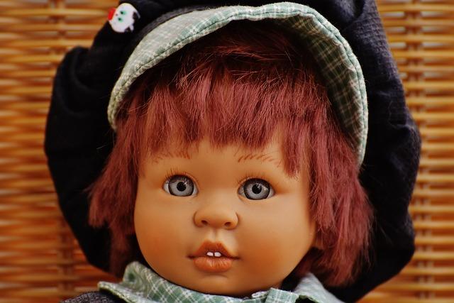 Doll, Girl, Sweet, Toys, Children, Funny, Cute