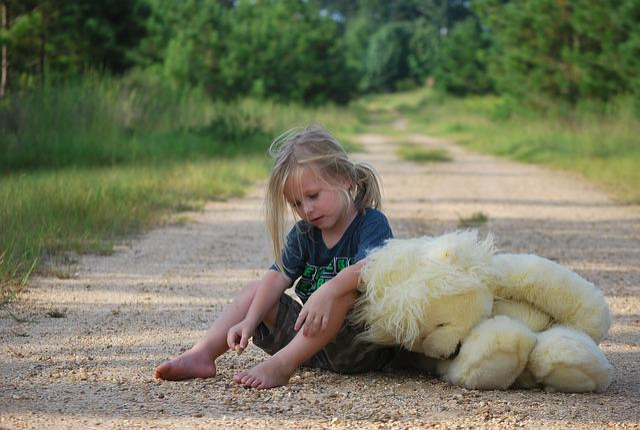 Girl, Teddy Bear, Toy, Child, Childhood, Little, Play