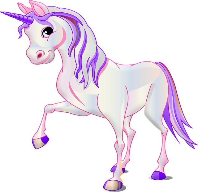 Unicorn, Pink, Purple, Fantasy, Animal, Girl, Pony