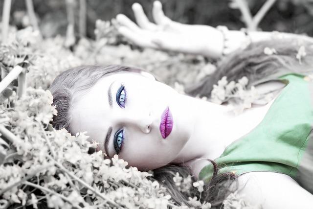 Girl, Flowers, Yellow, Beauty, Nature, Summer, Woman