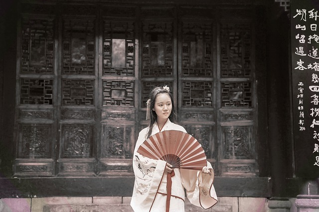 China, Antiquity, Girls, Tone Exercises, Asia, Clothing