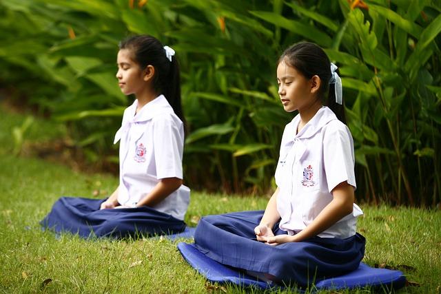 Girls, Buddhism, Meditation, Tailor Seat, Buddhist