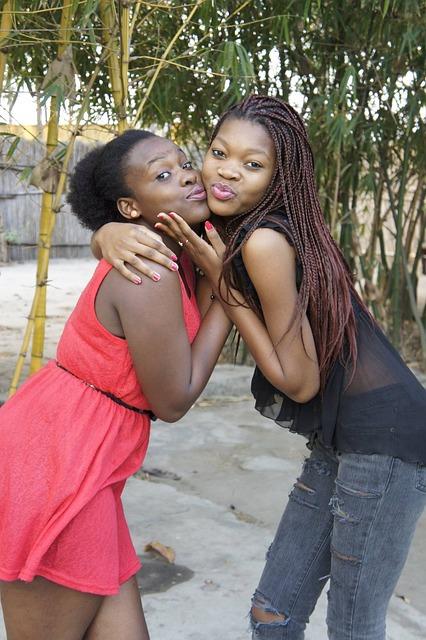 Modelo Moçambicana, Pita, Mozambique, Mulheres, Girls