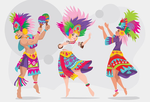 Sinulog Dancer, Ethnic Dancer, Girls, Traditional