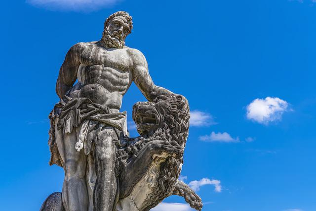 Statue Of Hercules, Art, Monument, Giuseppe Volpini