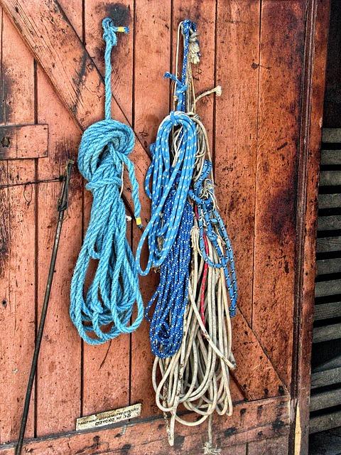 Rope, Hdr, Wooden Doors, Giżycko, Fishing Farm