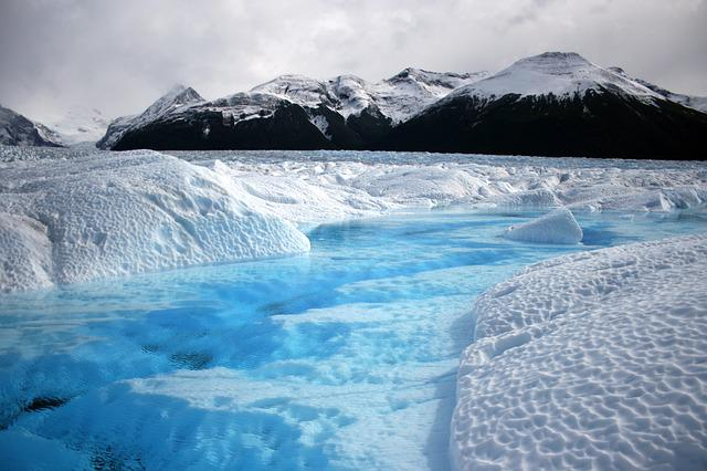 Glacier, Argentina, Patagonia, Mountains, Landscape