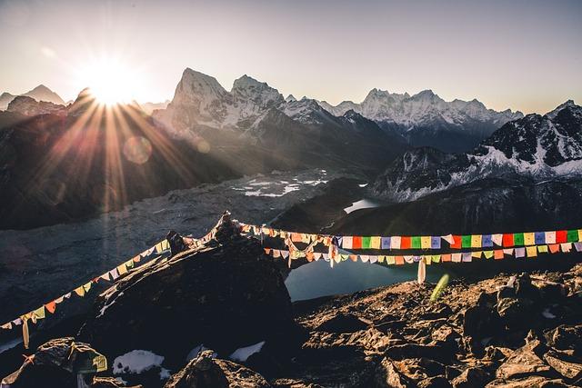Gokyo Ri, Everest Region, Lakes, Everest, Glacier