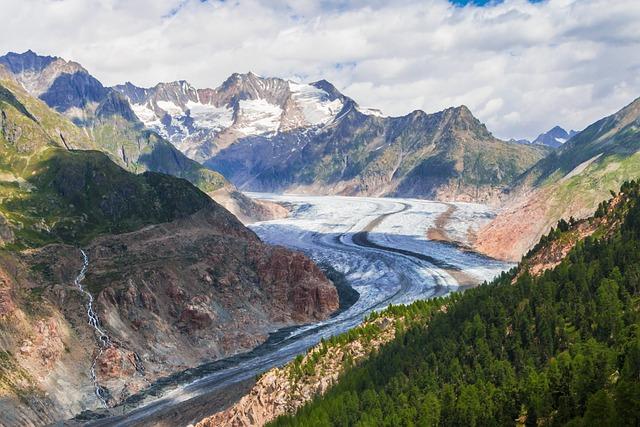 Aletsch Glacier, Aletsch, Glacier, Hiking, Switzerland