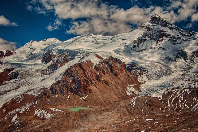 Mountain, Glacier, Ice, Mountaineering, Trekking