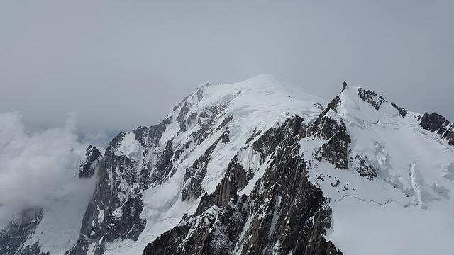 Mont Blanc, Mont Maudit, Glacier, High Mountains