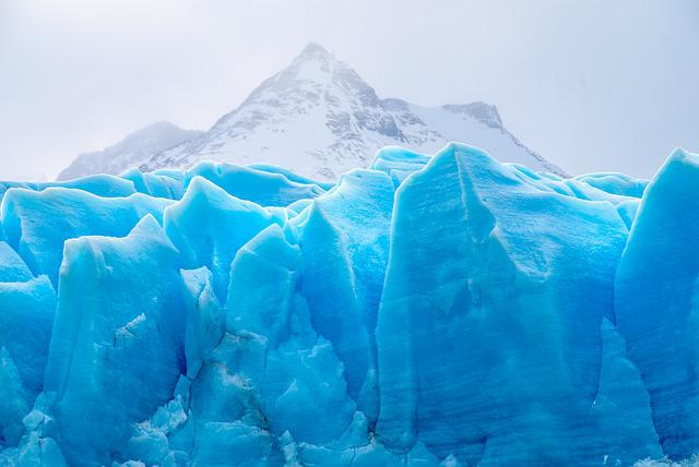 Glacier, Ice, Nature, Chile, Trekking