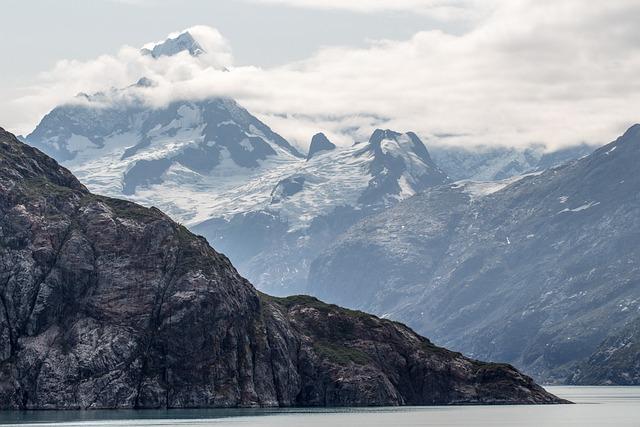 Mountain, Peak, Alaska, Glacier, Landscape, Nature