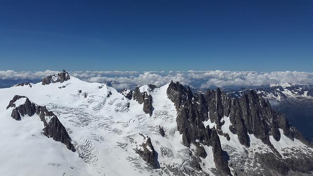 Free photo glacier you aiguille plan aiguille du midi for Garage du midi plan d orgon