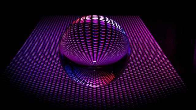 Glass Ball, Light, Ball, Photo Effect, Round, Shining