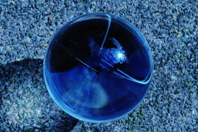 Glass Ball, Mirroring, Transparent, Ball, About, Glass