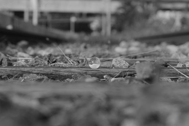 Track, Rail, Glass Beads