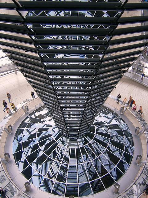 Berlin, Glass Dome, Glass