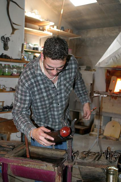 Glass Blower, Tradition, Craft, Niederbayern