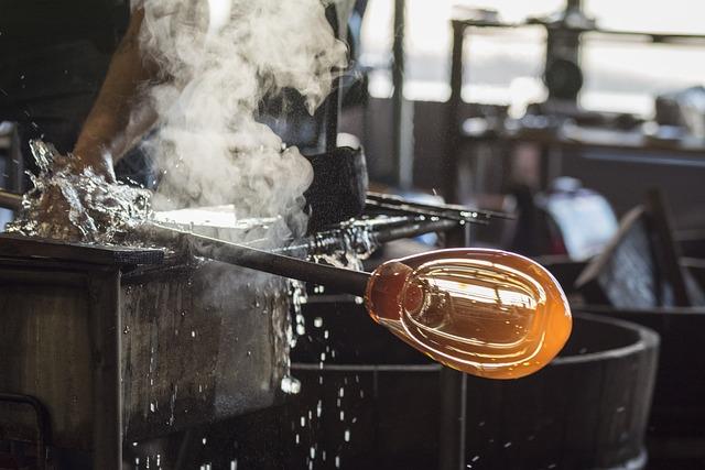 Glass, Glass Artist, Glass Blowing, Glassblowing, Heat