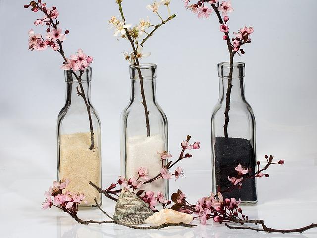 Bottles, Sand, Decorative Sand, Glass Bottle, Glass