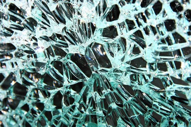 Glass, Glass Breakage, Broken, Disc, Splitter, Cracks