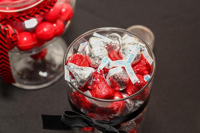 Candy, Chocolate, Glass, Sweet, Refreshment