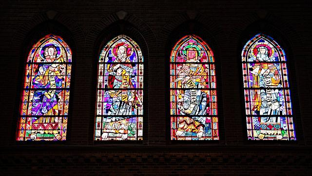 Church Window, Window, Church, Stained Glass, Glass